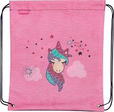 Спортна торба - Unicorn Stars -