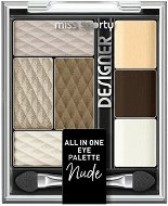 Miss Sporty Designer All in One Eye Palette Nude - Палитра с грим за очи -