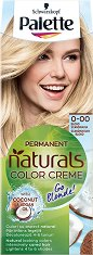 Palette Naturals Color Creme Lightener - Изрусител за коса - дамски превръзки