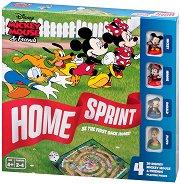 Home Sprint - Mickey Mouse and Friends - Състезателна детска игра - пъзел