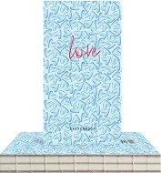 """Скицник с твърди корици - Милиони сърца - С размери 9.4 x 17.2 cm от серията """"Love is in the air"""""""