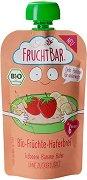 Fruchtbar - Био пюре с овес, банани и ягоди -
