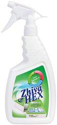 Спрей за бърза дезинфекция на повърхности - Zhivahex - Разфасовка от 750 ml - крем