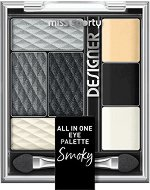 Miss Sporty Designer All in One Eye Palette Smokey - Палитра с грим за очи -