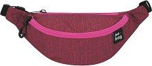 Чанта за кръст - Be.Bag: Geo Lines Berry - несесер