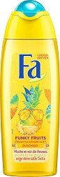 Fa Funky Fruits Shower Gel - Душ гел с плодов аромат - душ гел