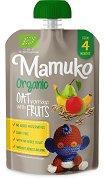 Mamuko - Био овесена каша с манго, банани и круши - пюре