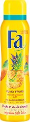 Fa Funky Fruits Deodorant - Дамски дезодорант с плодов аромат - четка