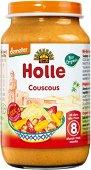 Holle - Био пюре от пиле и кускус - Бурканче от 220 g за бебета над 8 месеца - продукт