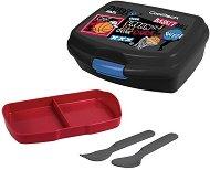 Комплект кутия и прибори за храна - Rumi: Basketball - кутия за храна
