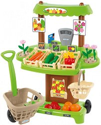 Супермаркет - Детски комплект за игра с аксесоари - играчка
