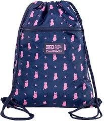 Спортна торба - Vert: Navy Kitty - детски аксесоар