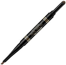 Max Factor Real Brow Fill and Shape Pencil - Молив за вежди с апликатор - душ гел