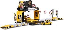Писта - Lamborghini - Комплект с количка - играчка