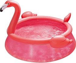 Надуваем басейн - Фламинго - С диаметър ∅ 183 cm - басейн