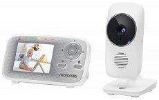 Дигитален видео бебефон - MBP481XL - С температурен датчик, нощна светлина и възможност за обратна връзка -