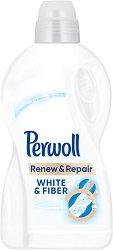 Течен перилен препарат за бяло пране - Perwoll Renew & Repair -
