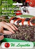 Семена от микро растения - Червен босилек - Опаковка от 3 g