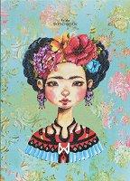 """Скицник с меки корици - Frida - С размери 17.6 x 25 cm от серията """"Have a lovely time"""""""