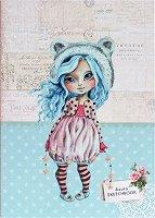 """Скицник с меки корици - Azura - С размери 17.6 x 25 cm от серията """"Have a lovely time"""""""