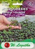 Семена от микро растения - Червено зеле - Опаковка от 2 g