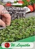 Семена от микро растения - Мизуна - Опаковка от 4 g