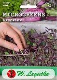 Семена от микро растения - Черна ряпа - Опаковка от 3 g