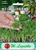 Семена от микро растения - Спанак