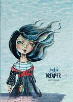 """Скицник с меки корици - Just a dreamer - С размери 17.6 x 25 cm от серията """"Have a lovely time"""""""