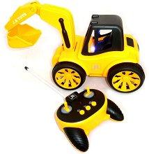 Багер - Играчка с дистанционно управление и светлинни ефекти -