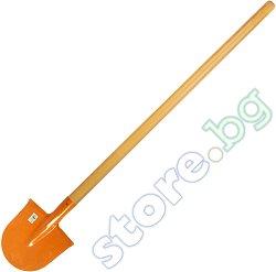 Обла лопата - С дръжка