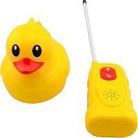 Плуващо пате - Играчка с дистанционно управление и звукови ефекти -