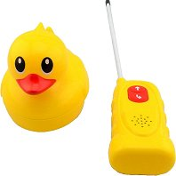 Плуващо пате - Играчка с дистанционно управление и звукови ефекти - играчка