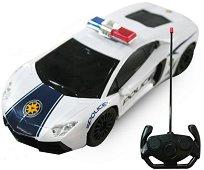 Полицейска кола - Lamborghini - Играчка с дистанционно управление - играчка