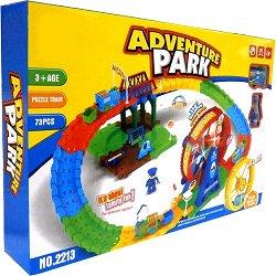 Писта - Adventure Park - Детски сглобяем комплект за игра със светлинни и звукови ефекти -