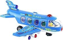 Самолет - Играчка със светлинни и звукови ефекти -