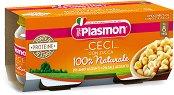 Plasmon - Пюре от тиква с нахут - Опаковка от 2 х 80 g за бебета над 8 месеца -