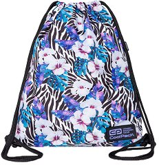 Спортна торба - Solo L: Flower Zebra -