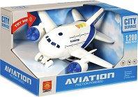 Самолет - Детска играчка със светлинни и зукови ефекти -