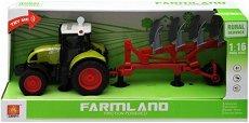 Фермерски трактор с фреза - играчка