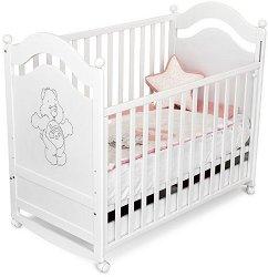 Детско легло - Velko - За матрак с размери 60 x 120 cm -