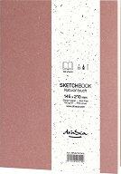 """Скицник за рисуване - С плътност на хартията 100 g/m : 2 :  : От серията """"Natural touch"""""""