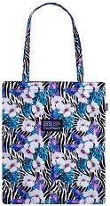 Чанта за рамо - Flower Zebra -