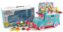 Бус за сладолед - Детски комплект за игра с аксесоари -