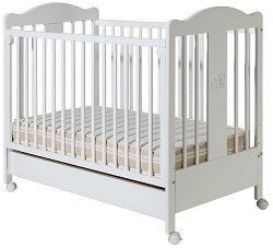 Детско легло - Tommy - За матрак с размери 60 x 120 cm -
