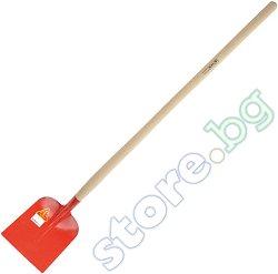 Усилена права лопата - С дръжка