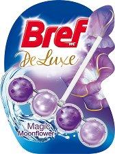 Тоалетно блокче - Bref Deluxe - С аромат на лунно цвете - опаковка от 1 брой x 50 g -
