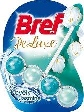 Тоалетно блокче - Bref Deluxe - С аромат на жасмин - опаковка от 1 брой x 50 g -