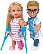 Ева и Тими - Лекарски комплект - играчка