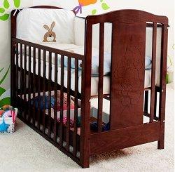 Детско легло с чекмедже - Lux - За матрак с размери 60 x 120 cm -